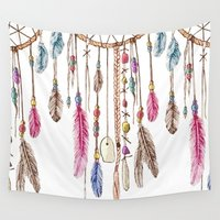 dreamer Wall Tapestries featuring Dreamer by CrystalFairy