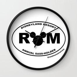Annual SASS-Holder Wall Clock