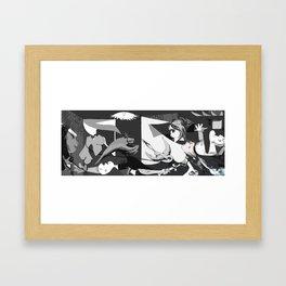 Guernicesk Framed Art Print