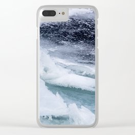 Frozen Bay Clear iPhone Case
