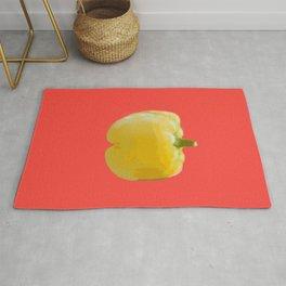 Yellow bell pepper Rug