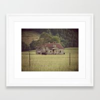 tennessee Framed Art Prints featuring Tennessee by Hilary Walker