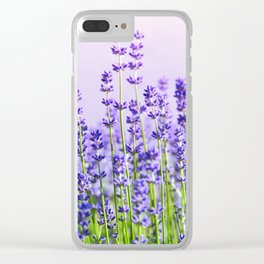 Lavender 15 Clear iPhone Case