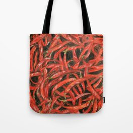 RED HOT CHILLIES Tote Bag