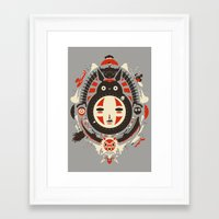 miyazaki Framed Art Prints featuring A New Wind by Danny Haas