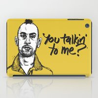 taxi driver iPad Cases featuring Taxi Driver by Dave Flanagan