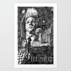 Eraserhead Movie Poster Art Print