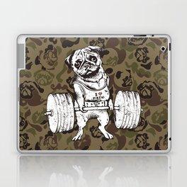 Pug Lift Camo Laptop & iPad Skin