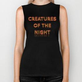 Creatures of the Night Biker Tank
