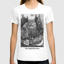 The Empress - Cat Tarot card T-shirt