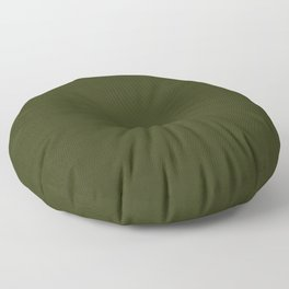 Dark olive textured. 2 Floor Pillow
