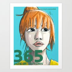 365 Days of Sketches: Number #133 Art Print