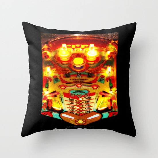 PINBALL Throw Pillow