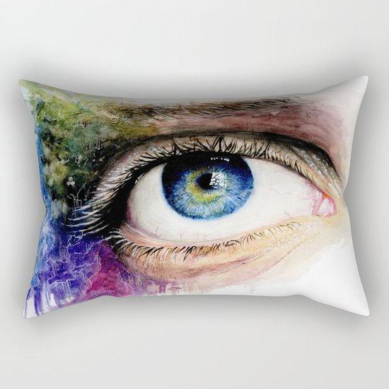 My eye Rectangular Pillow