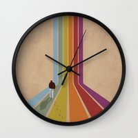 lonely Wall Clocks featuring Lonely by Whitney Retter