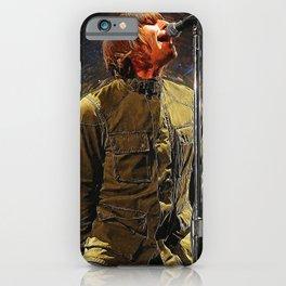 Liam Gallagher iPhone Case