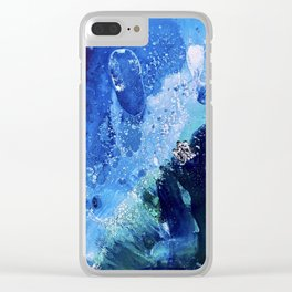 Little Polar Bear, Tiny World Environmental Collection Clear iPhone Case