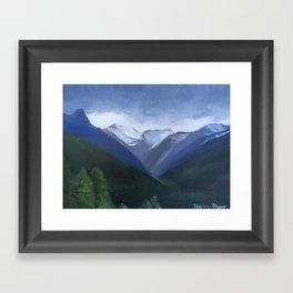 Austrian Landscape Framed Art Print