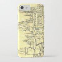 hogwarts iPhone & iPod Cases featuring Hogwarts by Christina Brunnock
