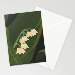 Lily of the Valley Stationery Cards