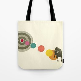 Bull's Eye : Taurus Tote Bag