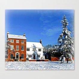 Wondrous Winter Canvas Print