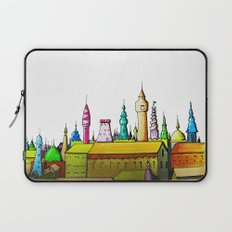 fabulous city painted Laptop Sleeve