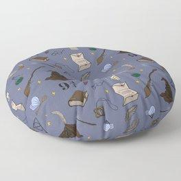 Wizard School Pattern Floor Pillow
