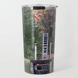 Country Water Wheel Travel Mug