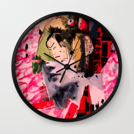 and then Odysseus lands in Japan Wall Clock