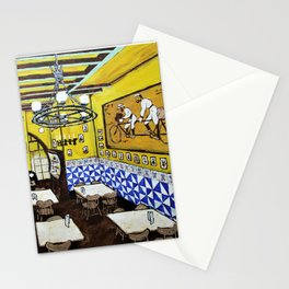 Els Quatre Gats by Mike Kraus - art Barcelona Spain España Picasso Europe Europa cafe restaurant Stationery Cards