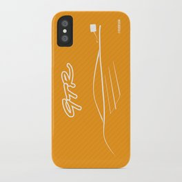 McLaren GTR Graphic iPhone Case