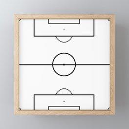 Soccer Field Framed Mini Art Print