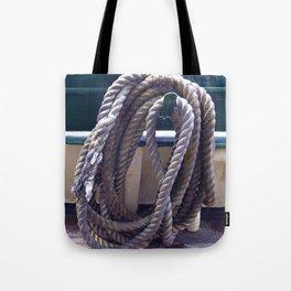 Old Rope Tote Bag