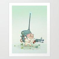 alien Art Prints featuring Alien by StarFil