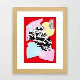Collage Pattern 01 Framed Art Print