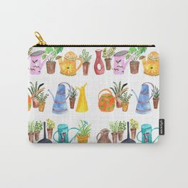 Green Little Fingers Carry-All Pouch