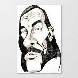 Lemmy, Motorhead Canvas Print
