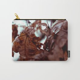 Leaves by the river Carry-All Pouch