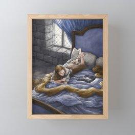 Rapunzel Framed Mini Art Print