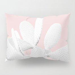 White Blush Cactus #1 #plant #decor #art #society6 Pillow Sham