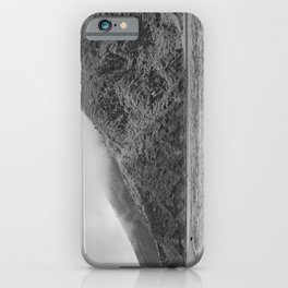 Lake Black and white iPhone Case