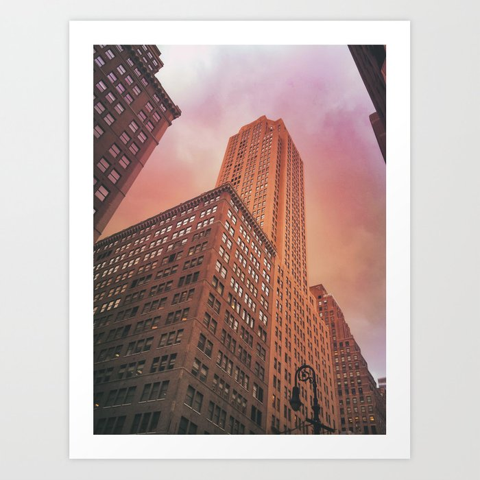 Storm Clouds - New York City Art Print