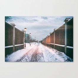 Lost in Winter Canvas Print
