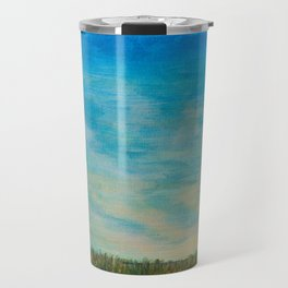 Walking to the Beach Travel Mug