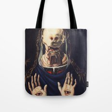 Pale Man With Crown Tote Bag