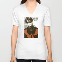 dick V-neck T-shirts featuring Dick by Shop 5