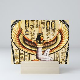Egypt Isis Cleopatra Mini Art Print