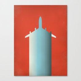 BLU PLN Canvas Print