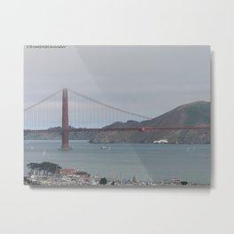 San Francisco Overlook Metal Print